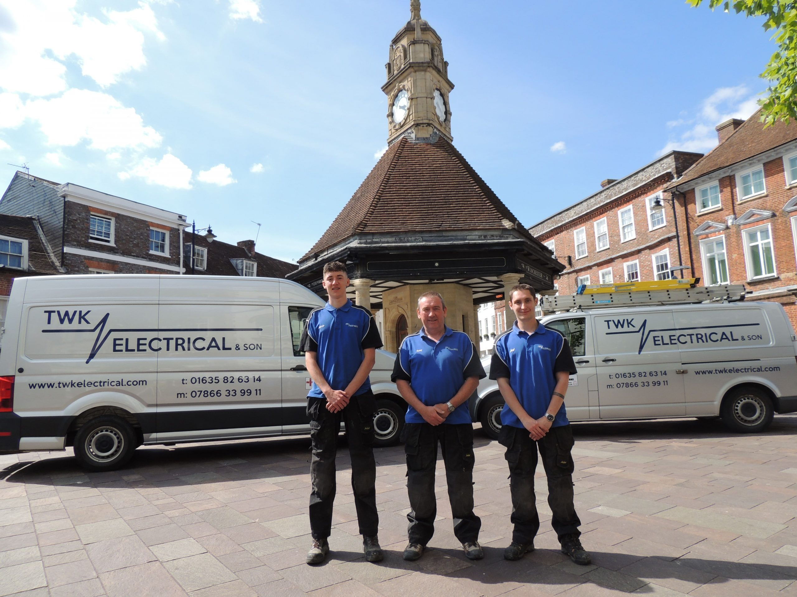 Newbury clock tower - TWK Electrical